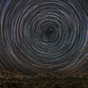 Star Trails near Barker Dam in Joshua Tree.(revised)