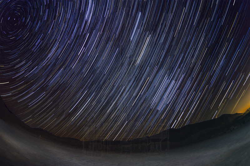 Star Trails @ Red Rock (Take 2)