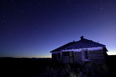 Old House near Mono Lake