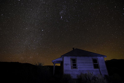 Historic Structure Under The Stars
