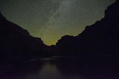 Night Sky over the Colorado River