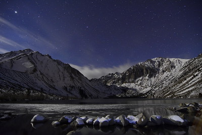Moon Light on Covict Lake