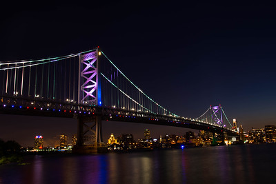 Ben Franklin Bridge - Philadelphia / Camden