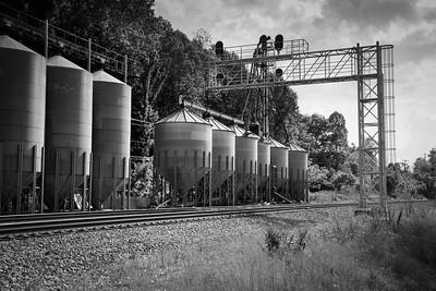 Railroad Silos - Abingdon, Viginia