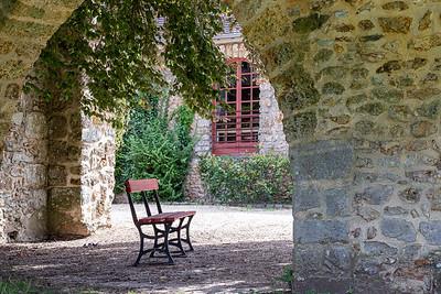 à l'abbaye des Vaux de Cernay