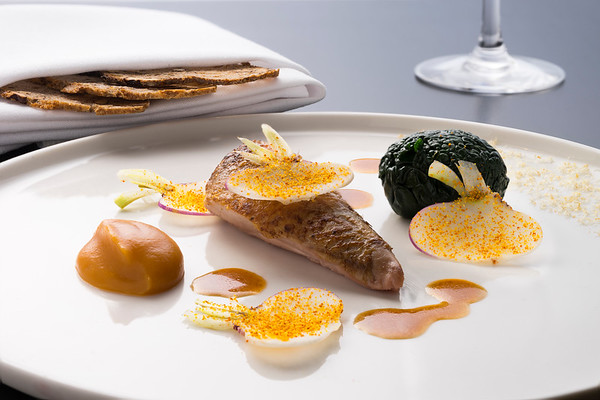 Chef James Wilkins, Wilks, Michelin Star restaurant, Bristol, UK
