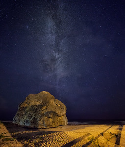 Round Rock, Cattlewash and the milky way