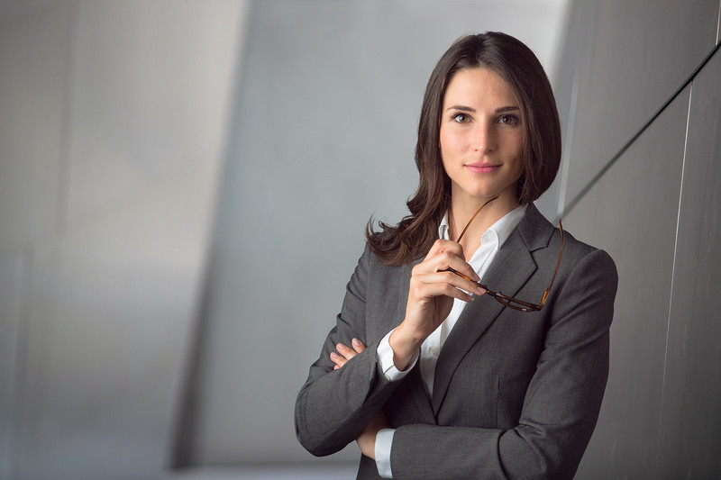 Smart intelligent business woman portrait headshot, ceo, owner, industry leader, global executive