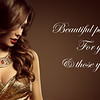 Woman Hairstyle, Beautiful Fashion Model Long Brown Hair Style, Sexy Girl in Elegant Golden Dress