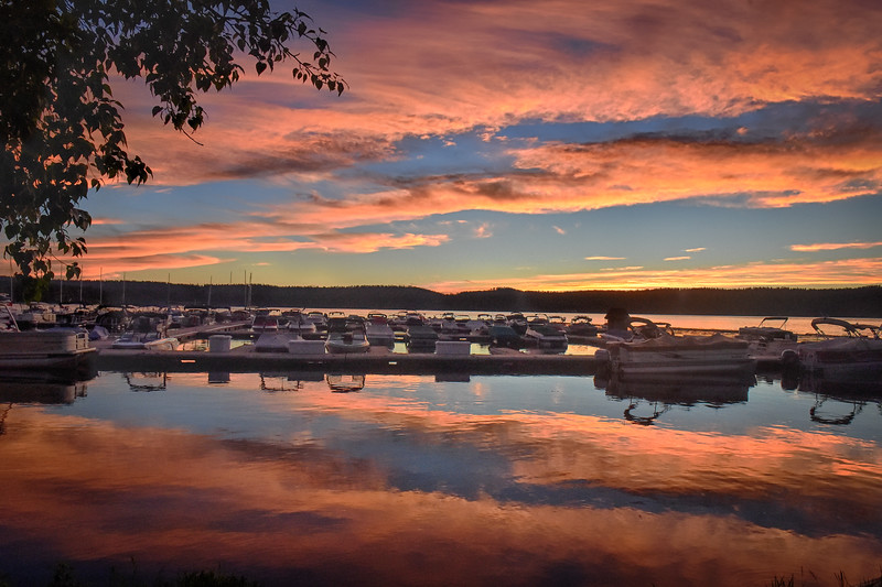 3221_3: Sunset at Mile High Marina