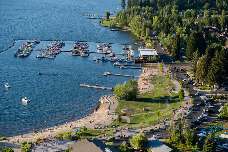 4126:  Mile High Marina and Legacy Park Aerial