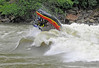 9512: Raft flip at Lake Creek, Salmon River