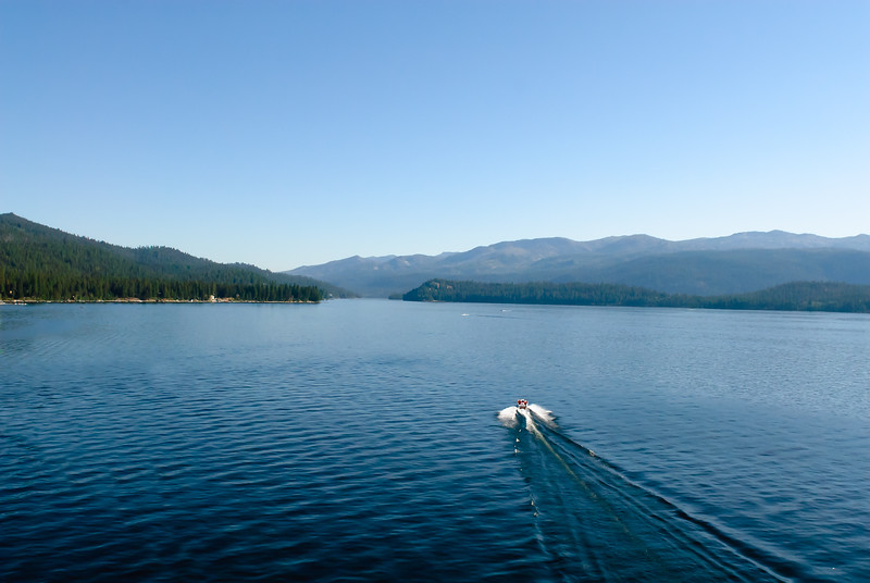 2756: Classic Wood Boat on Payette Lake