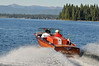 6964:  Classic Wood Boat on Payette Lake
