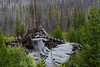 USA, Idaho, Idaho County, Warren, Old Dredge - 0635