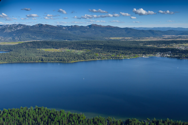 5192: Payette Lake Aerial