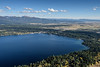 5186: Payette Lake and McCall Aerial
