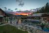 7180_2:  Sunset at Burgdorf Hot Springs