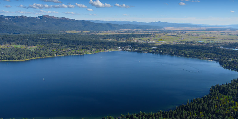5197: Payette Lake Aerial