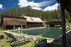 USA, Idaho, Idaho County, Burgdorf Hot Springs Pool 6324