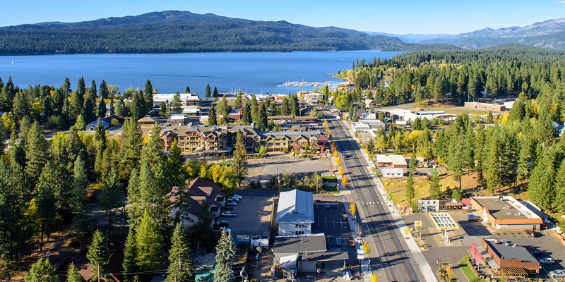 5290: Fall in McCall Aerial