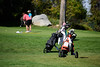 2718: Golfers at McCall Golf Course