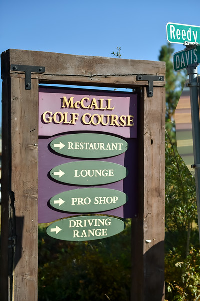 7126:  McCall Sign