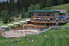 6711: Brundage Mountain Lodge - summer.