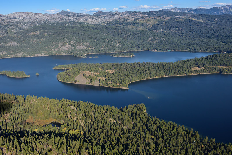 5216: Payette Lake Aerial