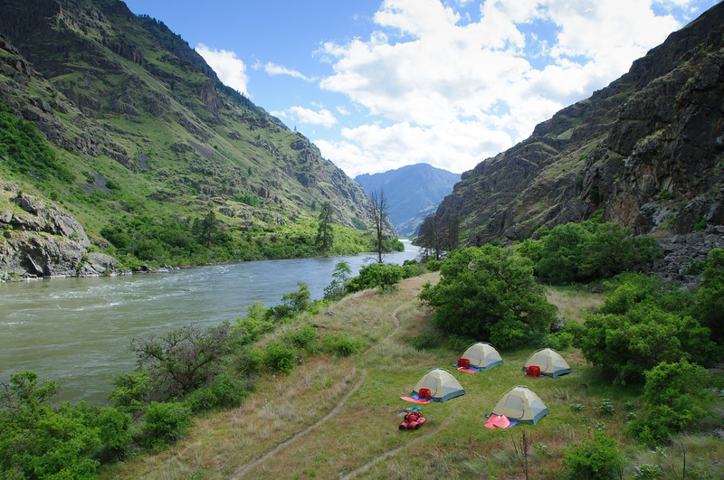 8678: Raft Camp in Hells Canyon 2011