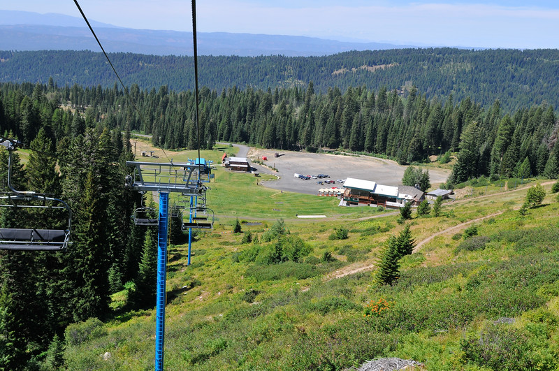 7532: Brundage Mountain in the Summer