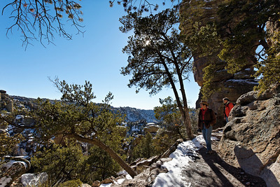 Hiking in Chiricahua National Monument, Arizona