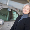 """Woman purchases new car.  <a href=""""http://www.istockphoto.com/file_search.php?action=file&lightboxID=5706230"""">Available for purchase from William Britten iStockphoto</a>"""