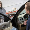 "Auto mechanic gives woman news about her car.  <a href=""http://www.istockphoto.com/file_search.php?action=file&lightboxID=5706230"">Available for purchase from William Britten iStockphoto</a>"