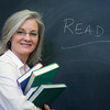 "Teacher at the blackboard. <a href=""http://www.istockphoto.com/file_search.php?action=file&lightboxID=5540504"">Available for purchase from William Britten iStockphoto</a>"