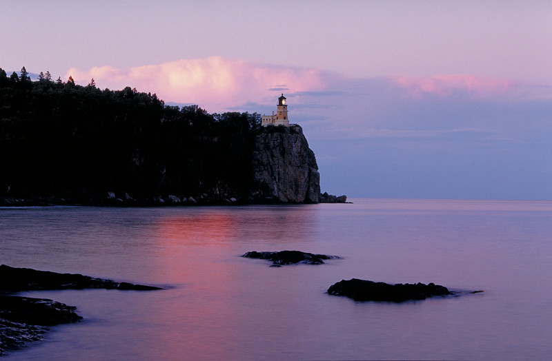 "Split Rock lighthouse, Lake Superior. Many more lighthouse images <a href=""http://www.istockphoto.com/file_search.php?action=file&lightboxID=3447652"">available for purchase from William Britten iStockphoto</a>"