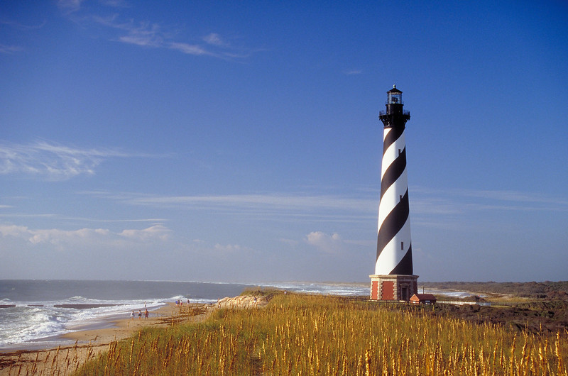 """Cape Hatteras lighthouse. Many more lighthouse images <a href=""""http://www.istockphoto.com/file_search.php?action=file&lightboxID=3447652"""">available for purchase from William Britten iStockphoto</a>"""