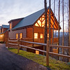 """Dramatic image of resort log cabin.  <a href=""""http://www.istockphoto.com/file_search.php?action=file&lightboxID=3447657"""">Available for purchase from William Britten iStockphoto</a>"""