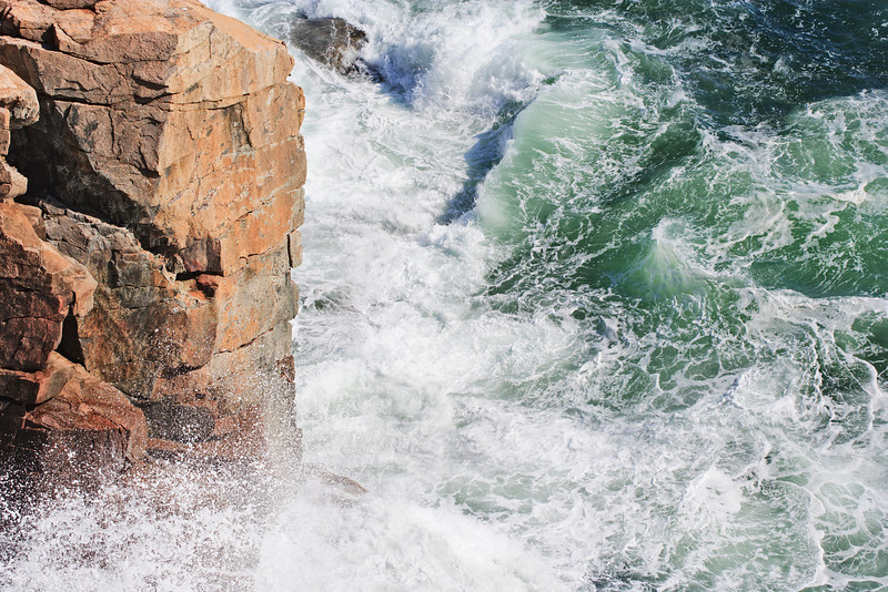 """Ocean waves on a rocky coast! <a href=""""http://www.istockphoto.com/file_search.php?action=file&lightboxID=8618733"""">Available for purchase from William Britten iStockphoto</a>"""