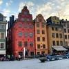 Stortorget in Gamla Stan, Stockholm.