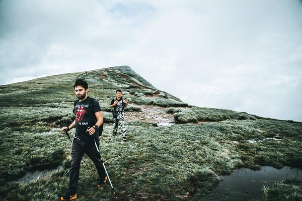 Top of Cribyn peak - Brecon Beacons