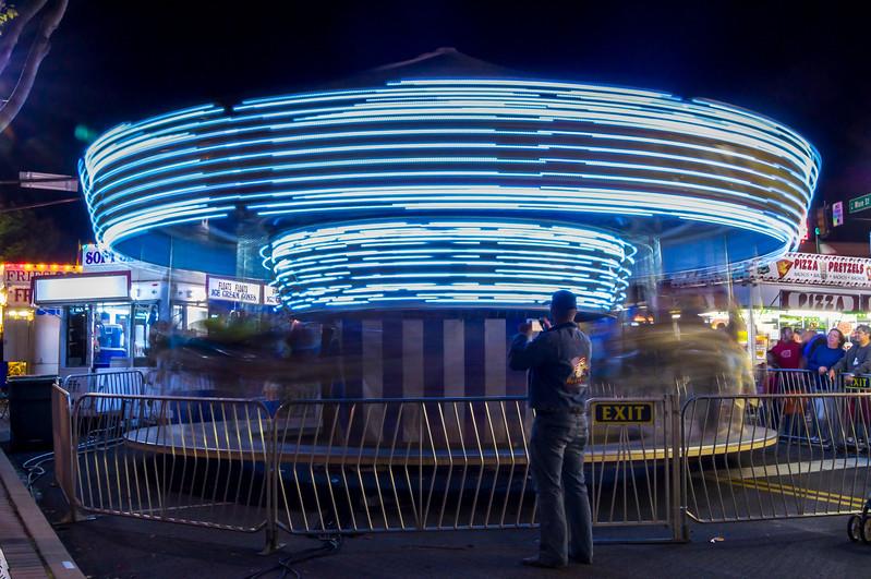 Spinning Light Photograph