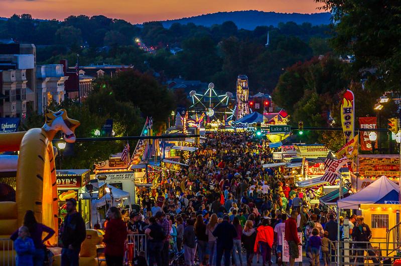 Dusk at the Fair