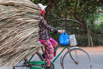 Llevo Carga  Angkor, Cambodia