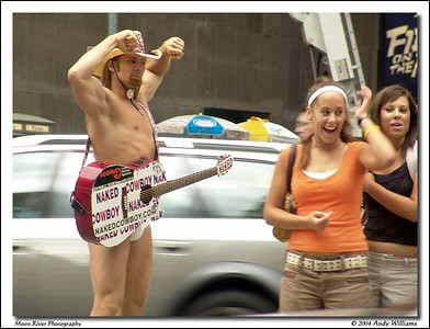 The Naked Cowboy
