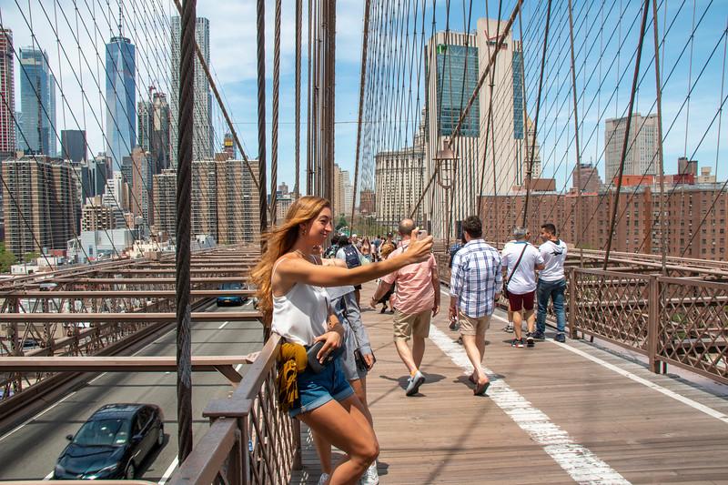 Girls Posing on the Brooklyn Bridg.jpg
