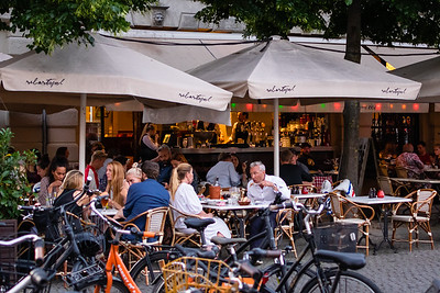 Evening in the Cafes, Copenhagen