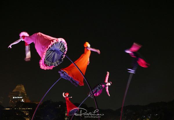 Cirque Du Soleil by night