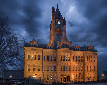 County Courthouse in Knoxville, Iowa