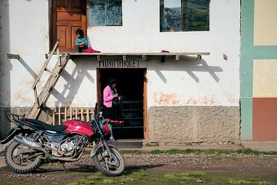 Village near Ausangate, Peru